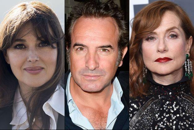 """Monica Bellucci, Jean Dujardin et Isabelle Huppert notamment apparaîtront dans la saison 3 de """"10 pour cent""""."""