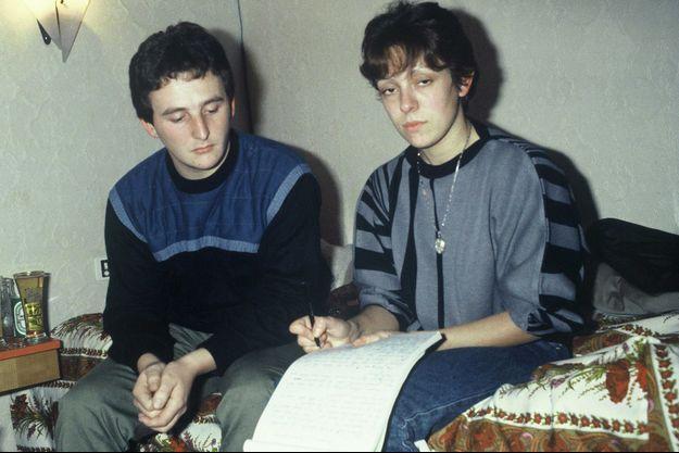 Jean-Marie et Christine Villemin, parents du petit Grégory, en 1985.