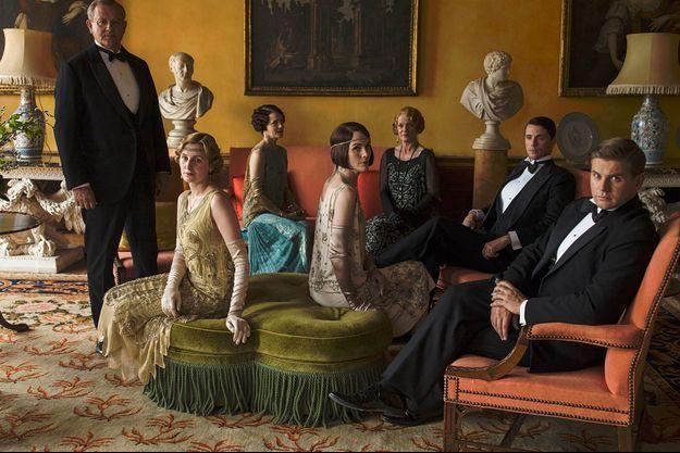 """Le casting de """"Downton Abbey""""."""