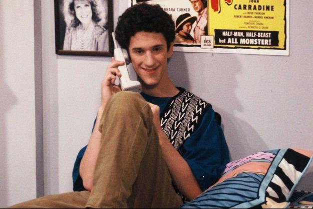 """Dustin Diamond dans """"Sauvés par le gong""""."""