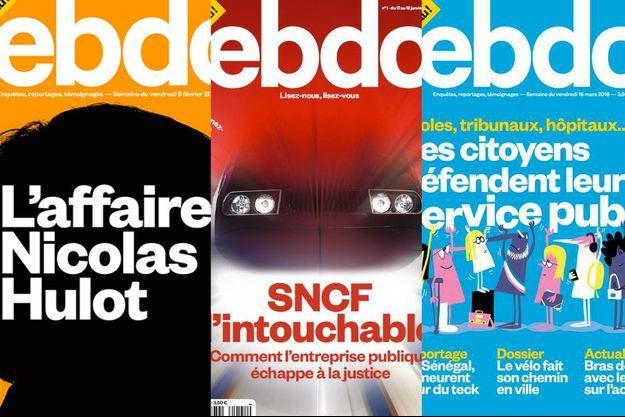 Le magazine Ebdo s'arrête déjà.