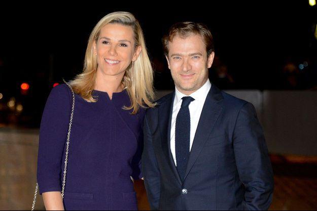 Laurence Ferrari et son mari Renaud Capuçon en 2014.