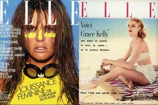 """Le magazine """"Elle"""" fête ses 70 ans."""