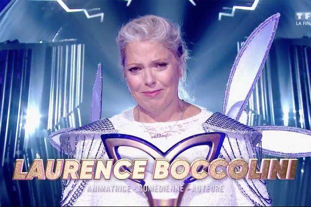 """Laurence Boccolini après sa victoire à """"Mask Singer"""" vendredi sur TF1."""