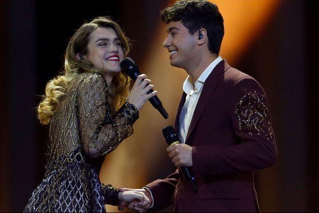 Le duo espagnol Amaia y Alfred nous a laissé de marbre avec sa chanson d'amour.