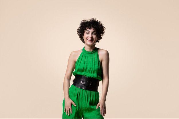 Barbara Pravi, candidate de la France à l'Eurovision 2021.