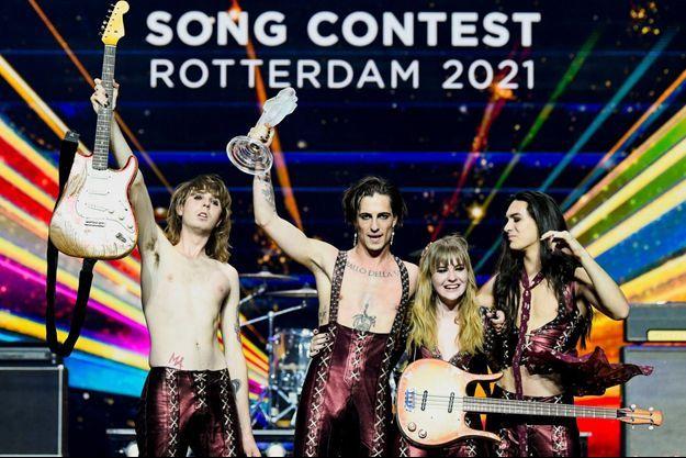 Le groupe italien Måneskin a remporté l'Eurovision 2021.