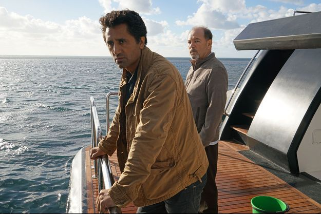 "Travis (Cliff Curtis) et Daniel (Rubén Blades) de ""Fear The Walking Dead""."