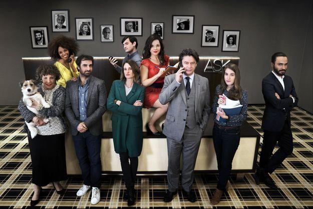 """Les six épisodes de """"Dix pour cent"""" de la saison 2 seront diffusés lors du festival."""