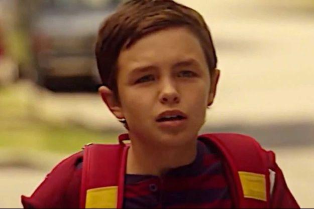 "Logan Williams dans ""Flash""."