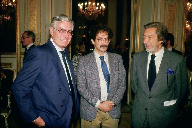 Hubert Henrotte, Alain Keler et Roger Thérond.