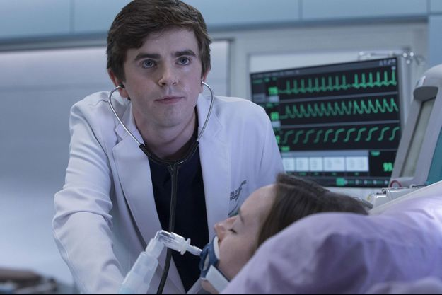 "Freddie Highmore dans ""Good Doctor""."