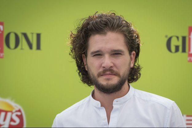 Kit Harington, en juillet dernier lors du Festival du Film de Giffoni, en Italie.