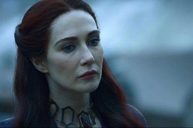 Carice van Houten dans le rôle de Mélisandre.