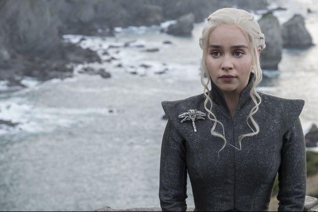 Daenerys Targaryen (Emilia Clarke).