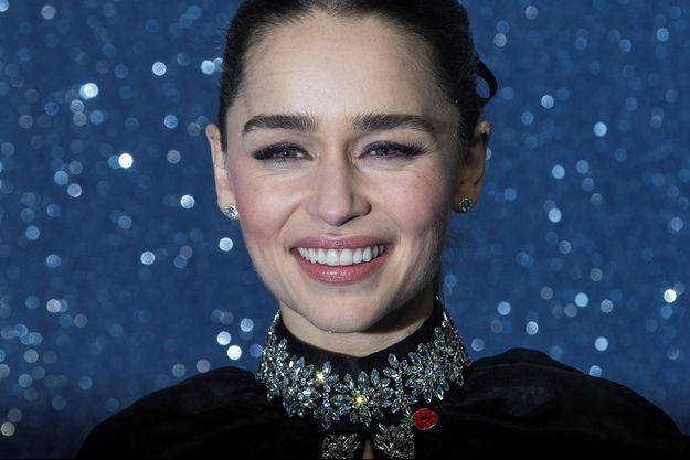 Emilia Clarke, le 11 novembre, à Londres.