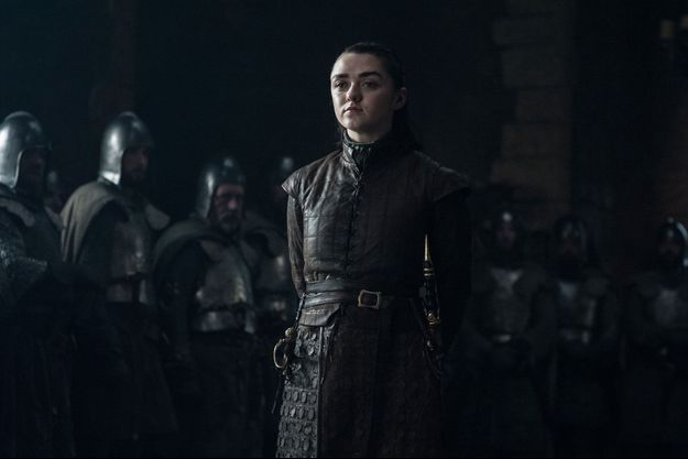 Arya Stark (Maisie Williams).