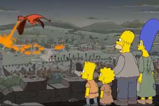 """Une scène de la saison 29 des """"Simpson""""."""
