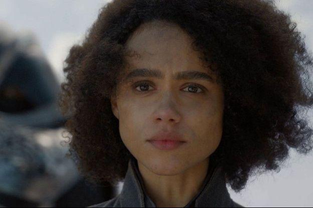 """Missandei dans l'épisode 4 de la saison 8 de """"Game of Thrones""""."""