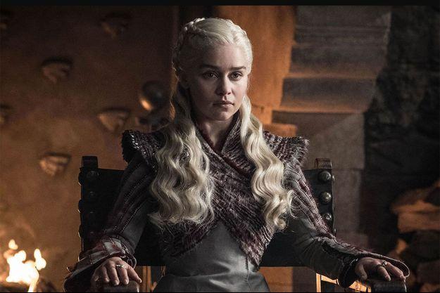 "Daenerys Targaryen (Emilia Clarke) dans la huitième saison de ""Game of Thrones""."