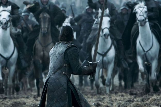 """La bataille des bâtards de la saison 6 de """"Game of Thrones""""."""