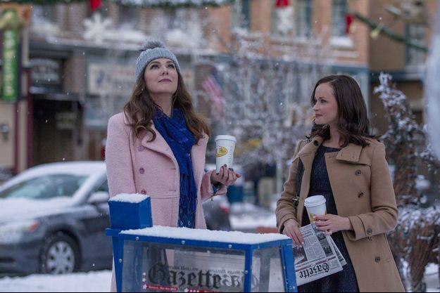 Lauren Graham et Alexis Bledel dans «Gilmore Girls : une nouvelle année».