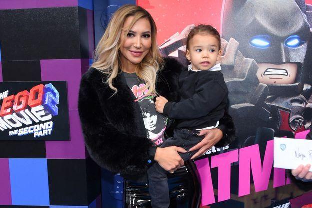 Naya Rivera et son fils Josey, en février 2019.