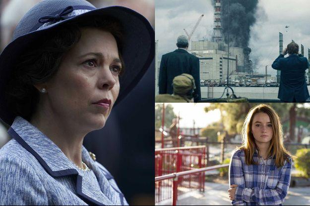 """""""The Crown"""", """"Chernobyl"""" et """"Unbelievable"""" sont à la tête des nominations de la section télévision des Golden Globes 2020."""