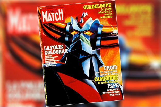 goldorak paris match