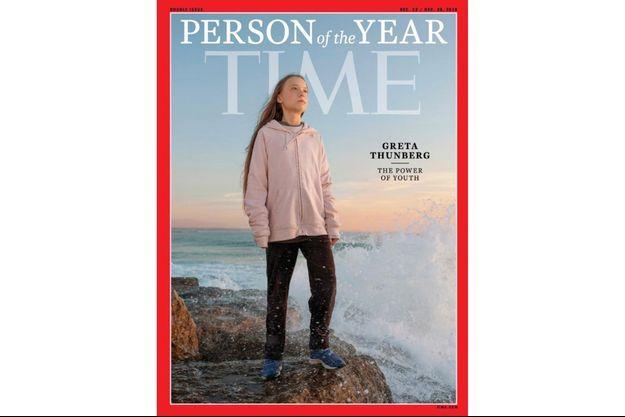 La couverture du magazine «Time» consacré à la personnalité de l'année.