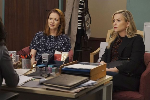 Sarah Drew (April Kepner) et Jessica Capshaw (Arizona Robbins).
