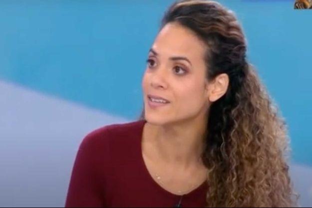 """Andréa Decaudin sur le plateau de """"Télématin""""."""