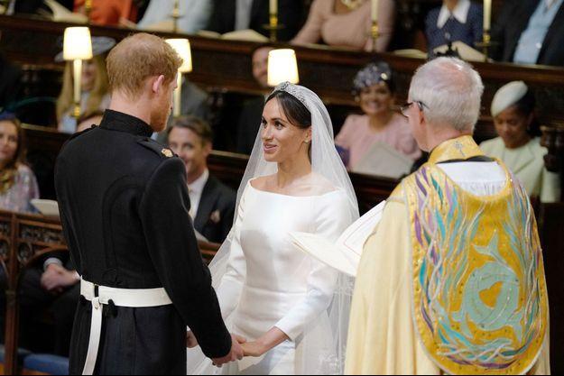 Le mariage du prince Harry et de l'actrice américaine Meghan Markle