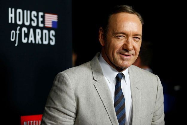 Kevin Spacey en octobre 2014.
