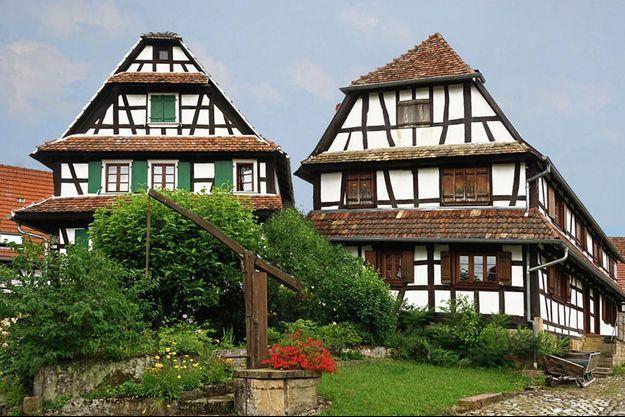 Hunspach (Grand Est) a été élu village préféré des Français en 2020.