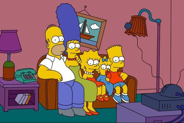 """Les """"Simpson"""" avaient imaginé il y a 16 ans une Amérique où Donald Trump avait été président."""