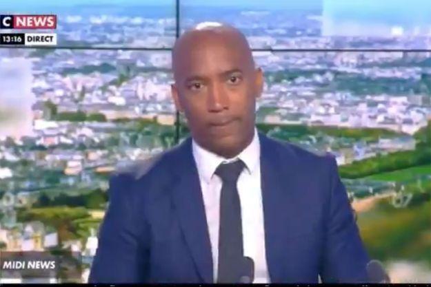 Patrice Boisfer sur le plateau de CNews, dimanche.