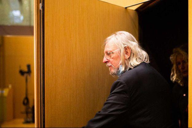 Didier Raoult après son audition à l'Assemblée nationale, le 24 juin 2020.