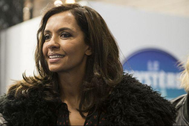 Karine Le Marchand en février 2020.