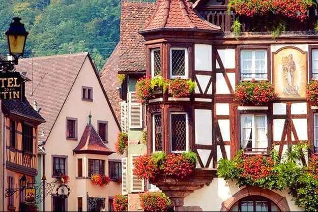 Le village de Kaysersberg est le village préféré des Français 2017.