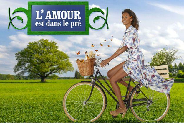 """Karine Le Marchand présente la 13ème saison de """"L'Amour est dans le pré""""."""