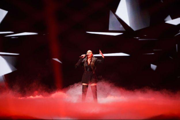 La candidate de l'Arménie à l'Eurovision, en 2019.