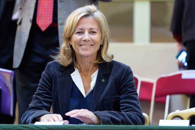 Claire Chazal le 15 novembre dernier aux enchères des vins des Hospices de Beaune.