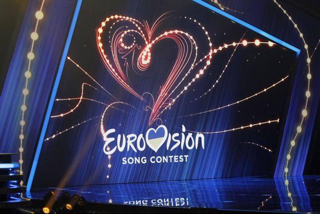 Une scène de l'Eurovision en Ukraine, en 2020.