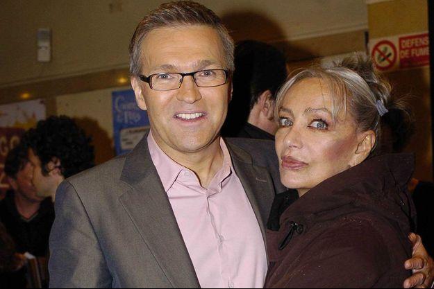 Laurent Ruquier et Marie Laforêt en 2007.
