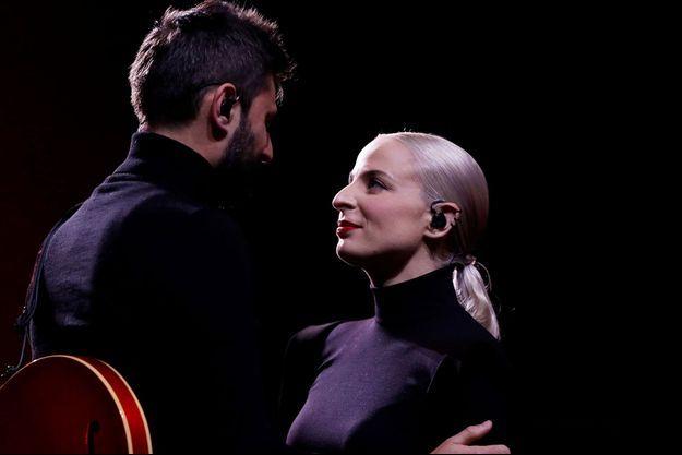 Madame Monsieur ont terminé 13ème de l'Eurovision.