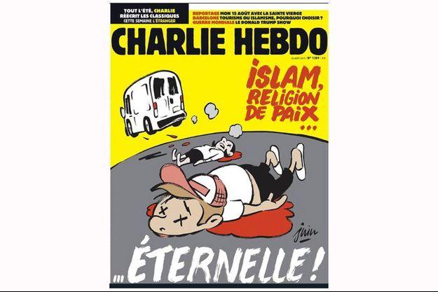 """La dernière Une de """"Charlie Hebdo""""."""
