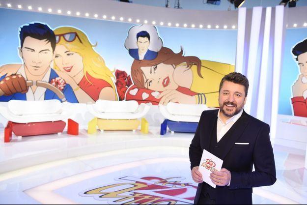 """Bruno Guillon sur le plateau des """"Z'amours""""."""