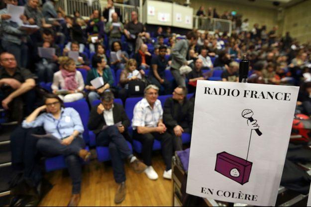 La grève de Radio France est reconduite jusqu'à mardi.