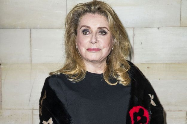 Catherine Deneuve en octobre 2018 à Paris.
